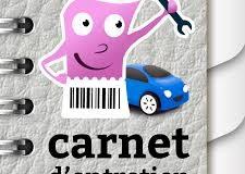 Carnet d'entretien dans son véhicule