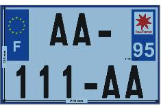 Deux roues : derniers jours pour s'équiper de plaques immatriculation au format réglementaire