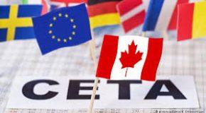 COMMUNIQUÉ DE PRESSE : CETA